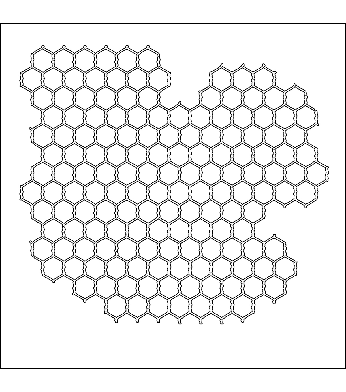 Crafter\u0027s Workshop Templates 6\u0022X6\u0022-Mini Chicken Wire