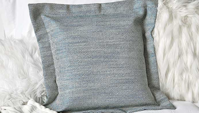 Envelope Pillow With Flange Edge, , hi-res