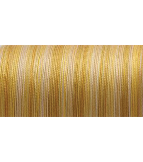YLI Silk Variegated Thread 218 Yds, Variegated Golds