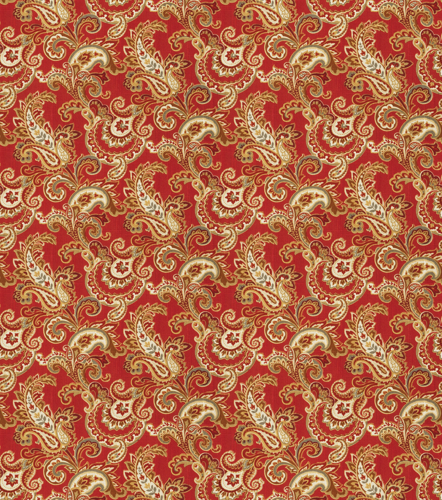 SMC Designs Upholstery Fabric 54\u0022-Dandy/ Vermillion