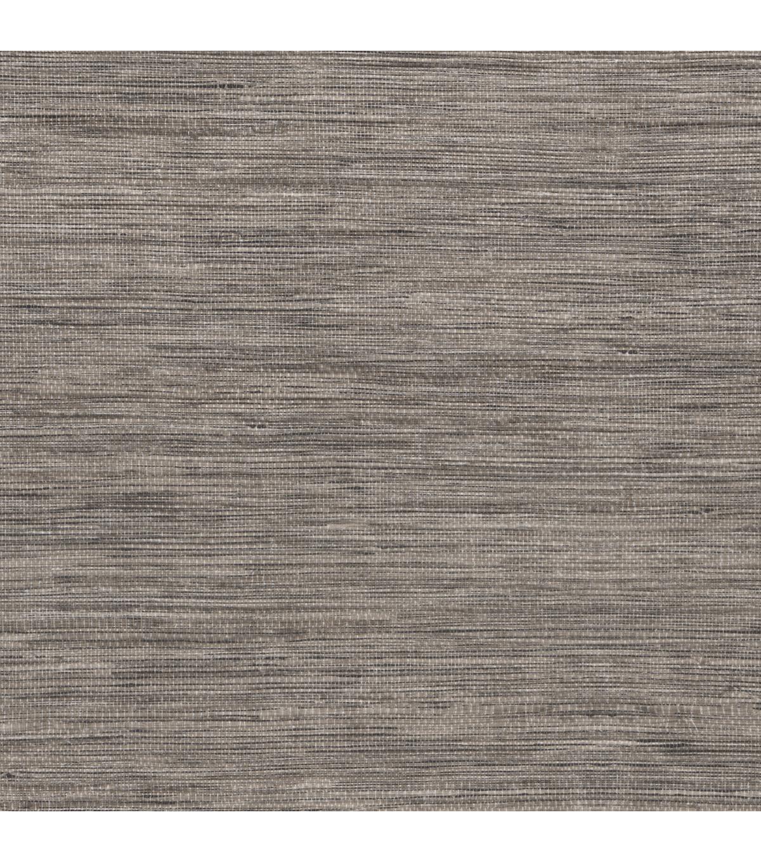 Tapis Grey Faux Grcloth Wallpaper Sample