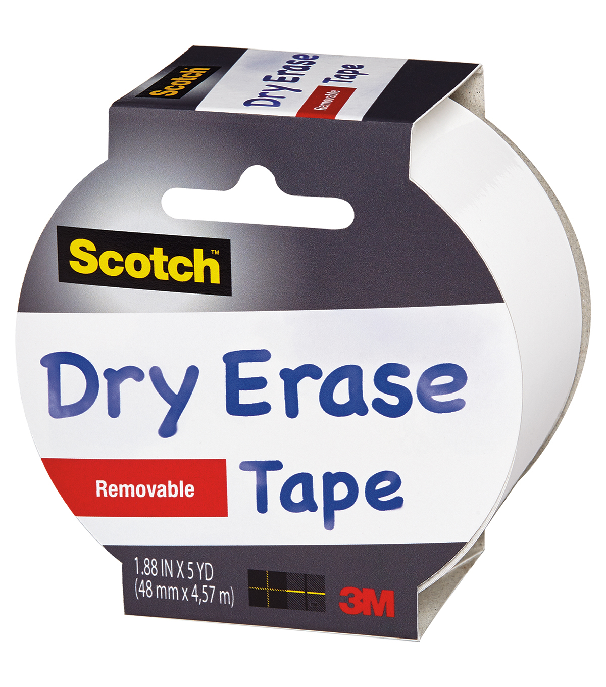 Scotch Dry Erase Tape 1.88\u0022X5yd-White