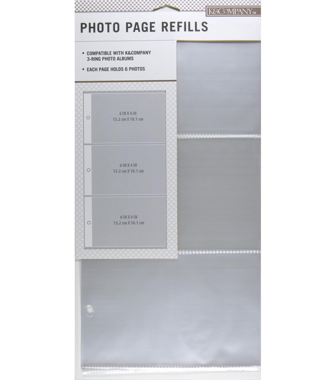 Kcompany 3 Up Binder Photo Album Refills Joann