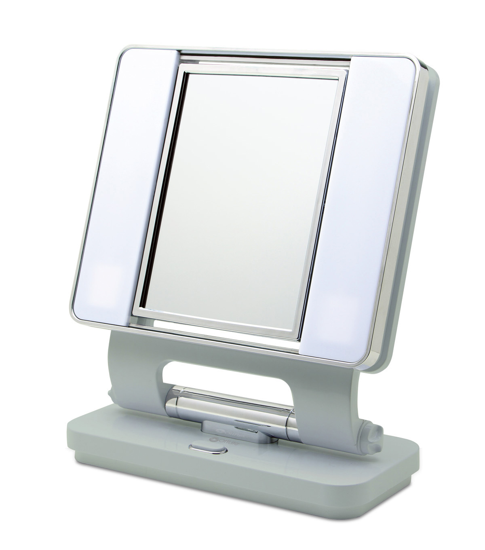 Ottlite 26w Dual Sided Makeup Mirror Seafoam Green