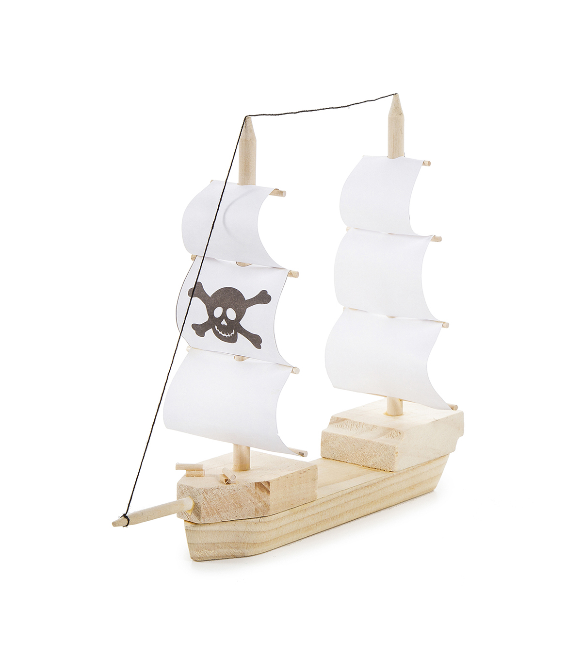 Wood Model Kit-Pirate Ship