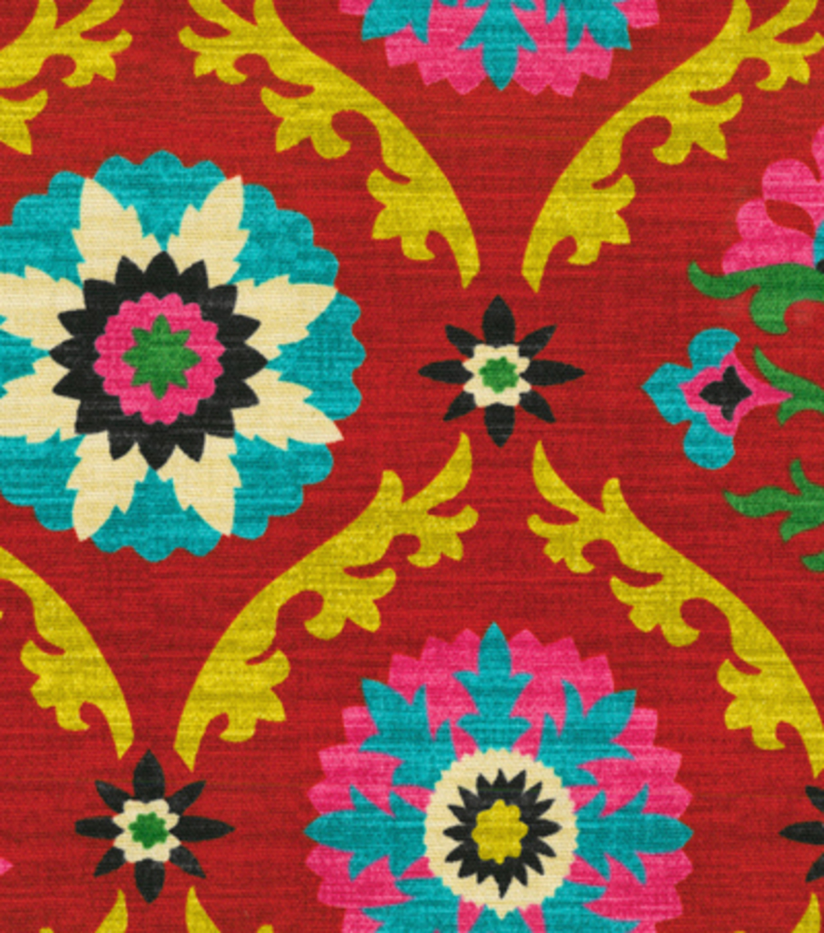Home Decor 8\u0022x8\u0022 Fabric Swatch-Waverly Mayan Medallion Desert Flower