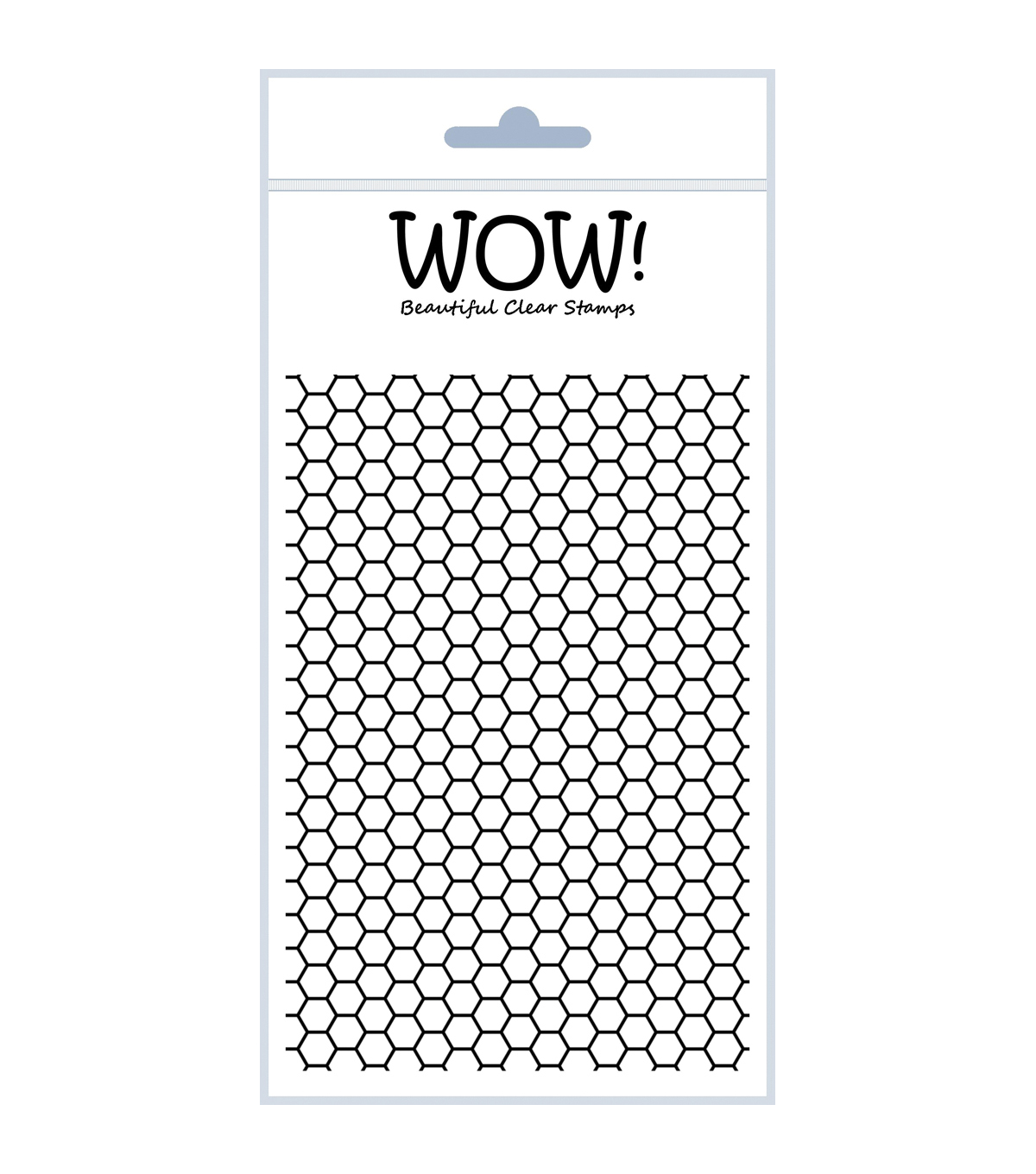 Wow Embossing Powder Sexi-Hexi Clear Stamp Set