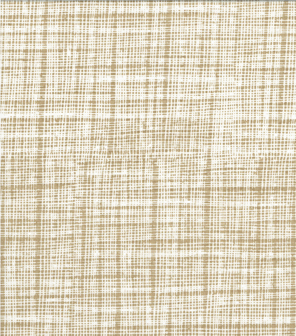 Quilter\u0027s Showcase Cotton Fabric -Screen Blender on Tan