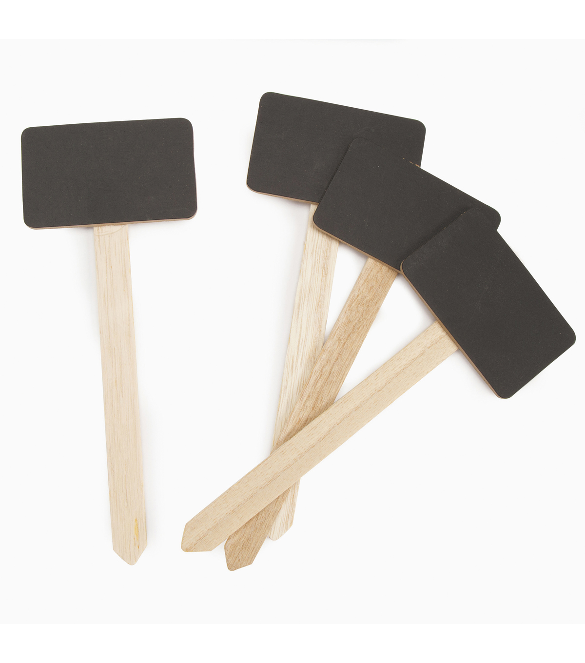 Darice Craftwood 4 pk Small Chalkboard Stake Signs