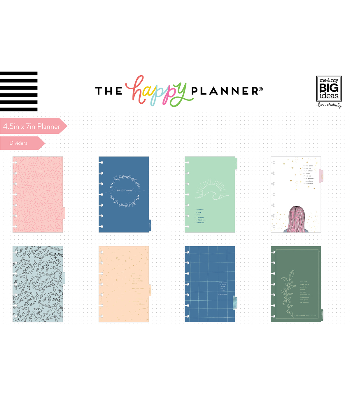 The Happy Planner Mini 2020 Dated Planner-Dainty Details