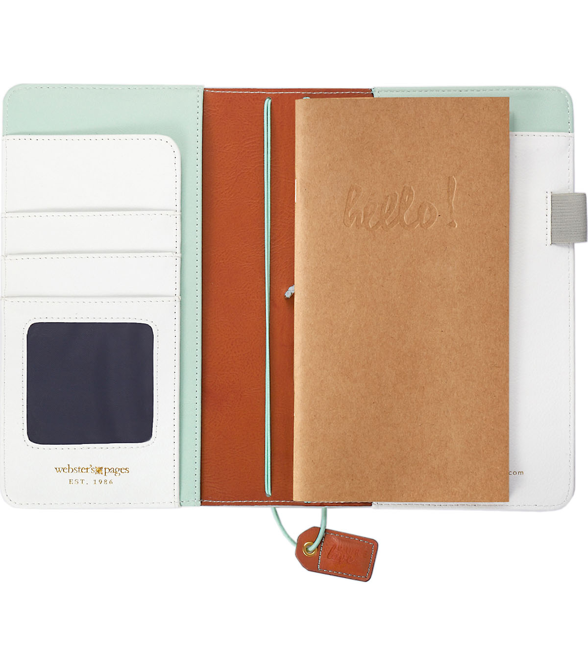 Webster\u0027s Pages Color Crush Faux Leather Traveler\u0027s Planner-Hexagon