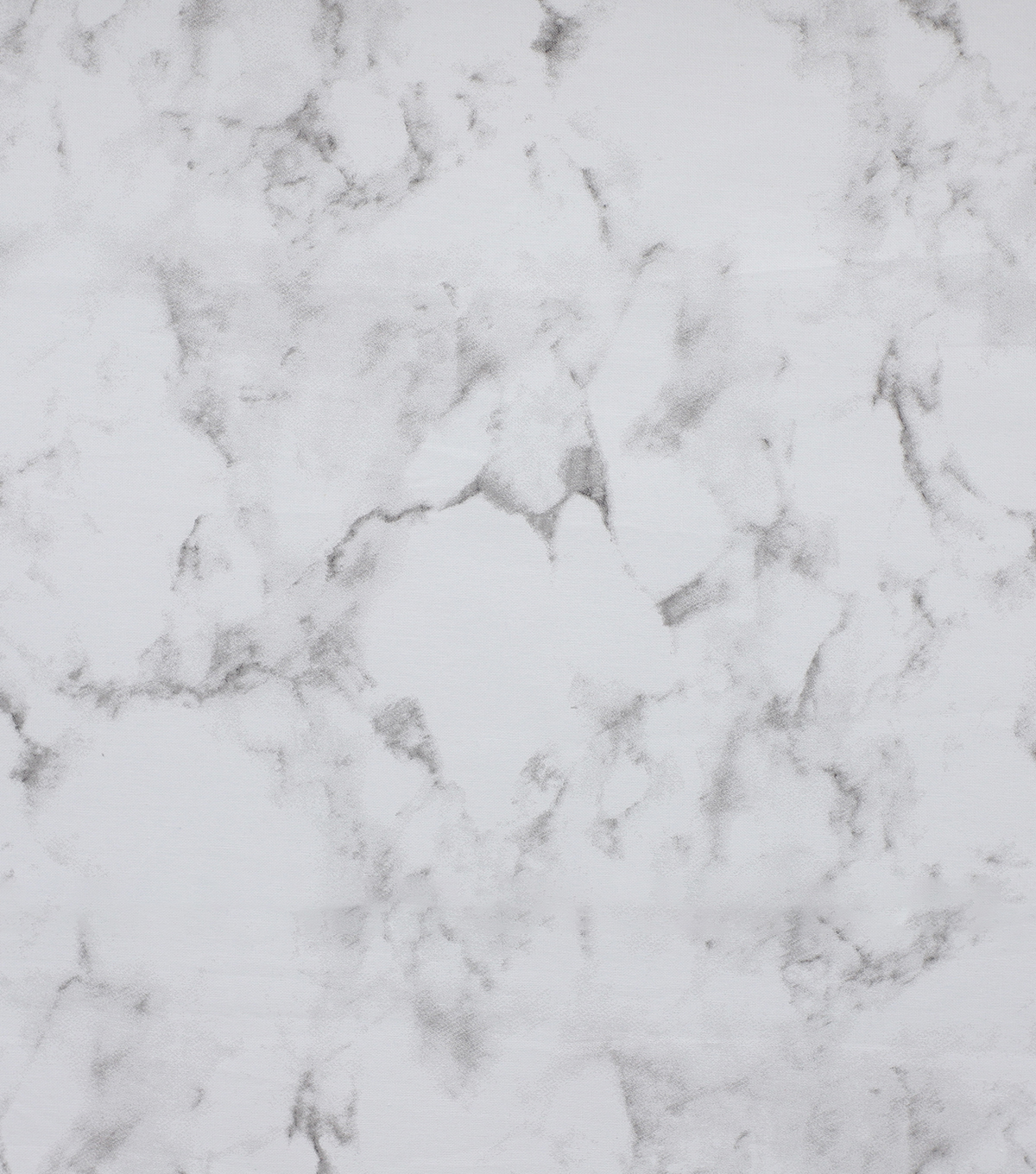Wide Cotton Fabric-White Marble