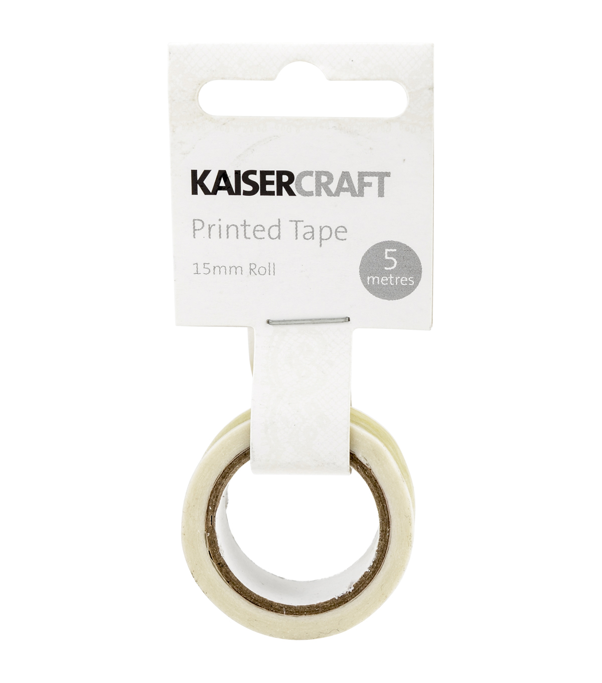 Kaisercraft Printed Tape .5\u0027\u0027x16.5\u0027-Lace