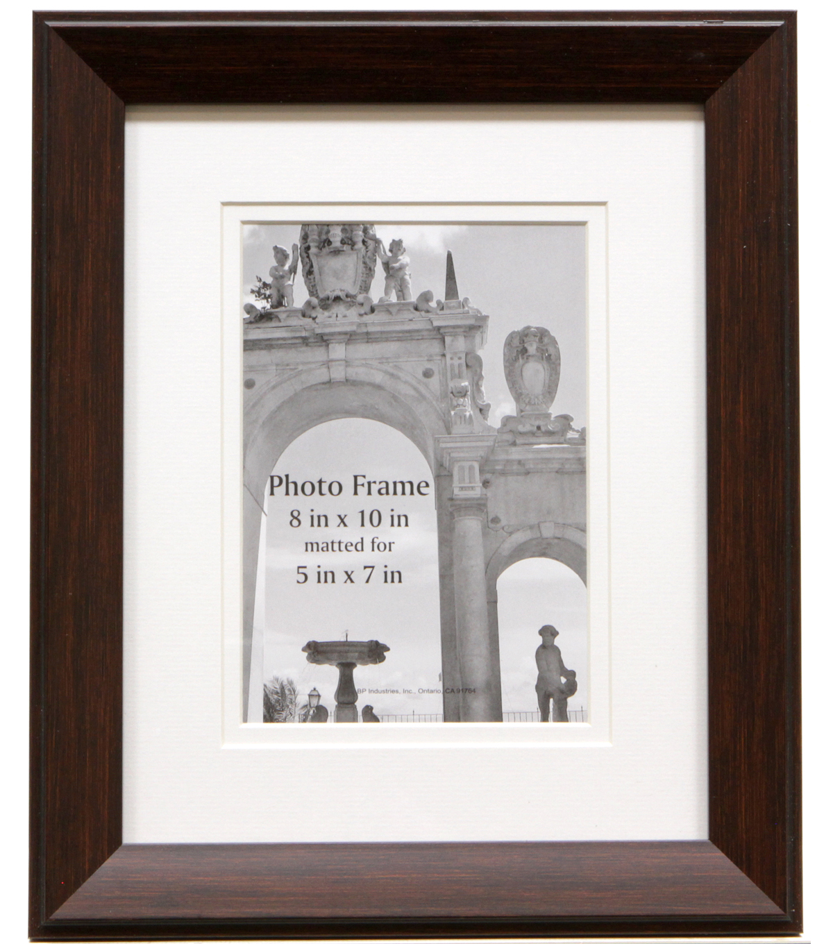 Wall Frame 8X10 With 5X7-Brown Wall Frame
