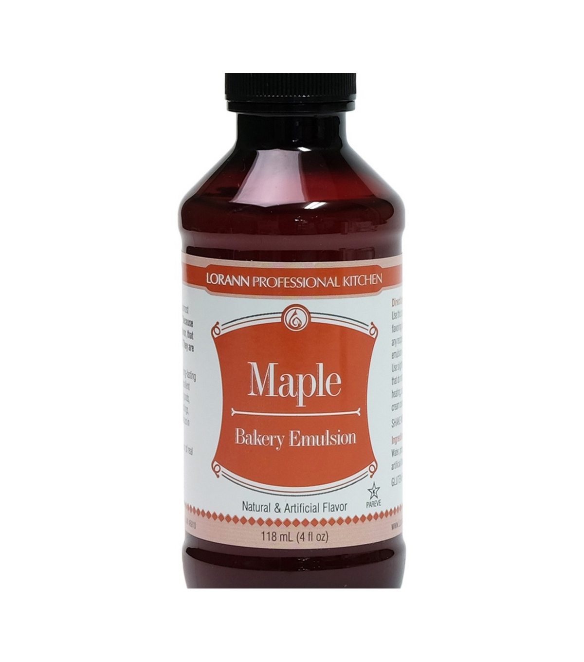 Bakery Emulsions Natural & Artificial Flavor 4oz-Maple