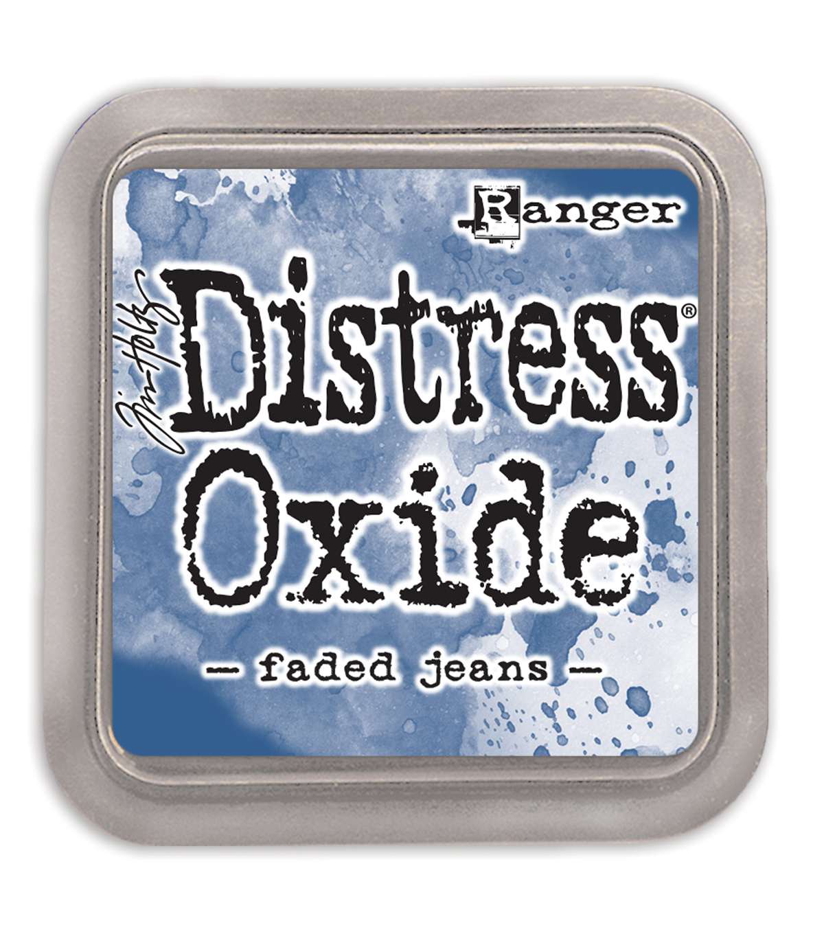 Tim Holtz Distress Oxide Ink Pad, Faded Jeans
