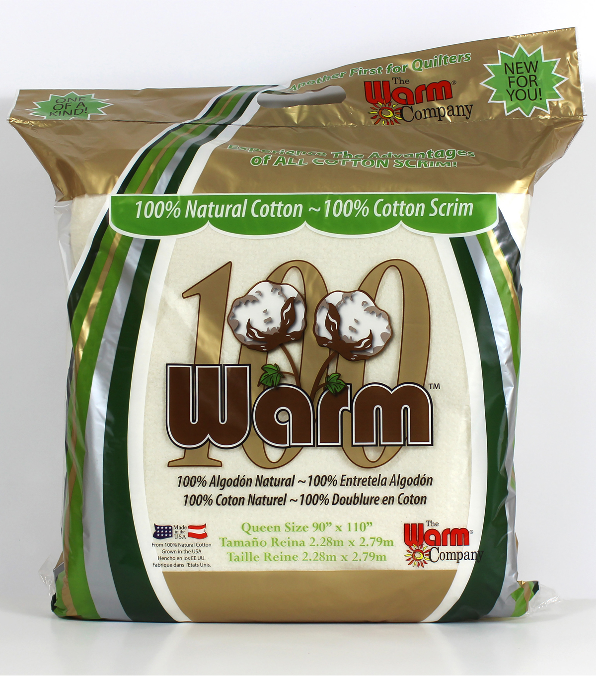 Warm 100 Queen Size Batting