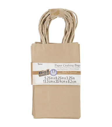 Small Kraft Baker S Dozen Bags