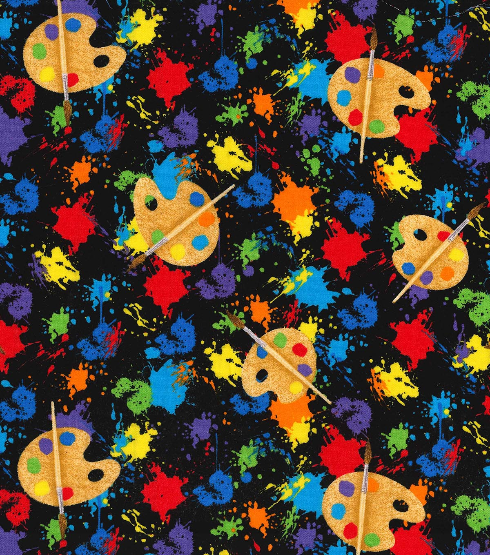 Novelty Cotton Fabric -Art Class | JOANN