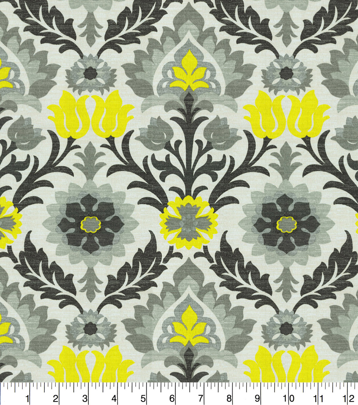 Waverly Sun N Shade Fabric 9\u0022x9\u0022 Swatch-Santa Maria Licorice