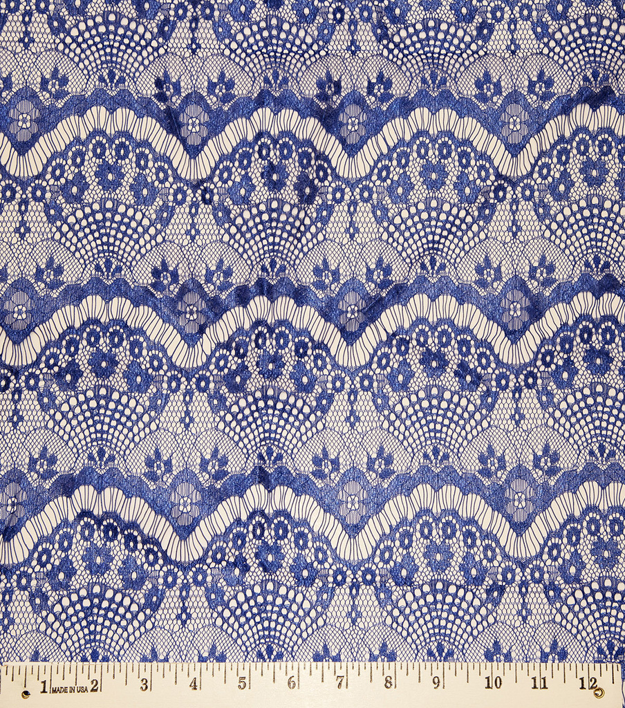 Casa Collection Eyelash Lace Fabric 56\u0022, Surf The Web