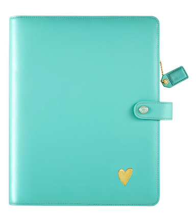 Webster\u0027s Pages Color Crush Composition Personal Planner-Light Teal