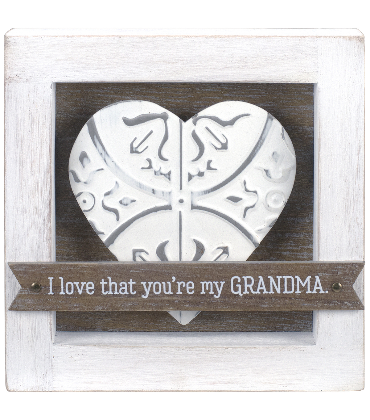 Stained Wood Box Sign-I Love That You\u0027re My Grandma