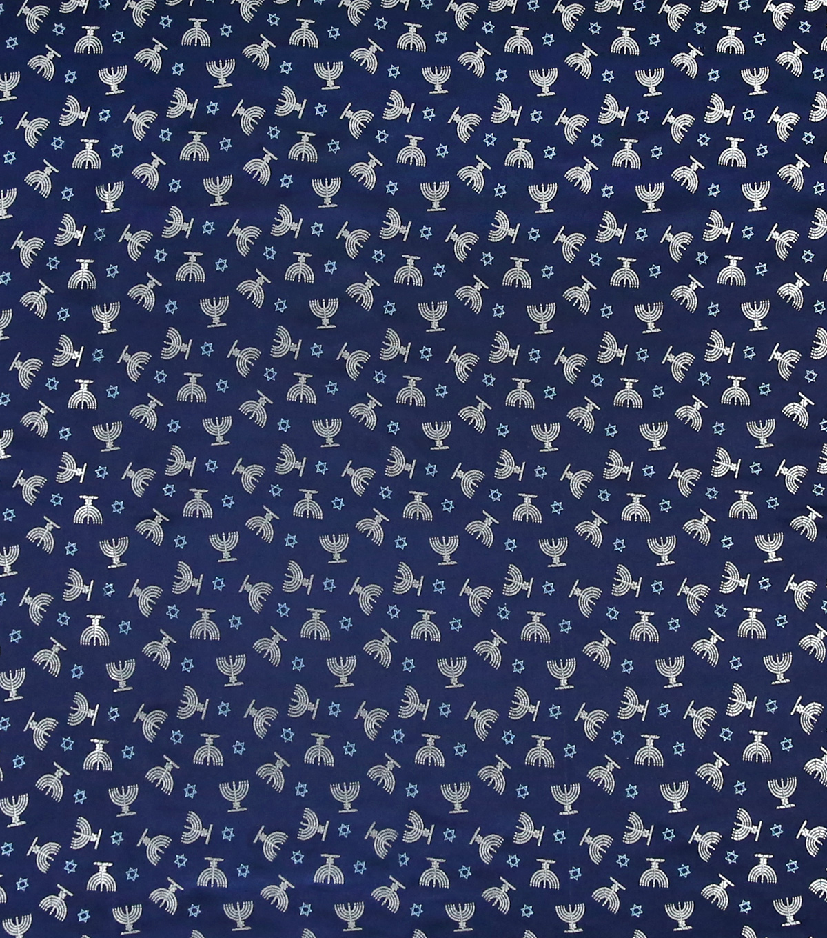 Brocade Fabric-Hanukkah