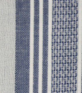 Cotton Fabric 42\u0027\u0027-Blue & White Variegated Stripe