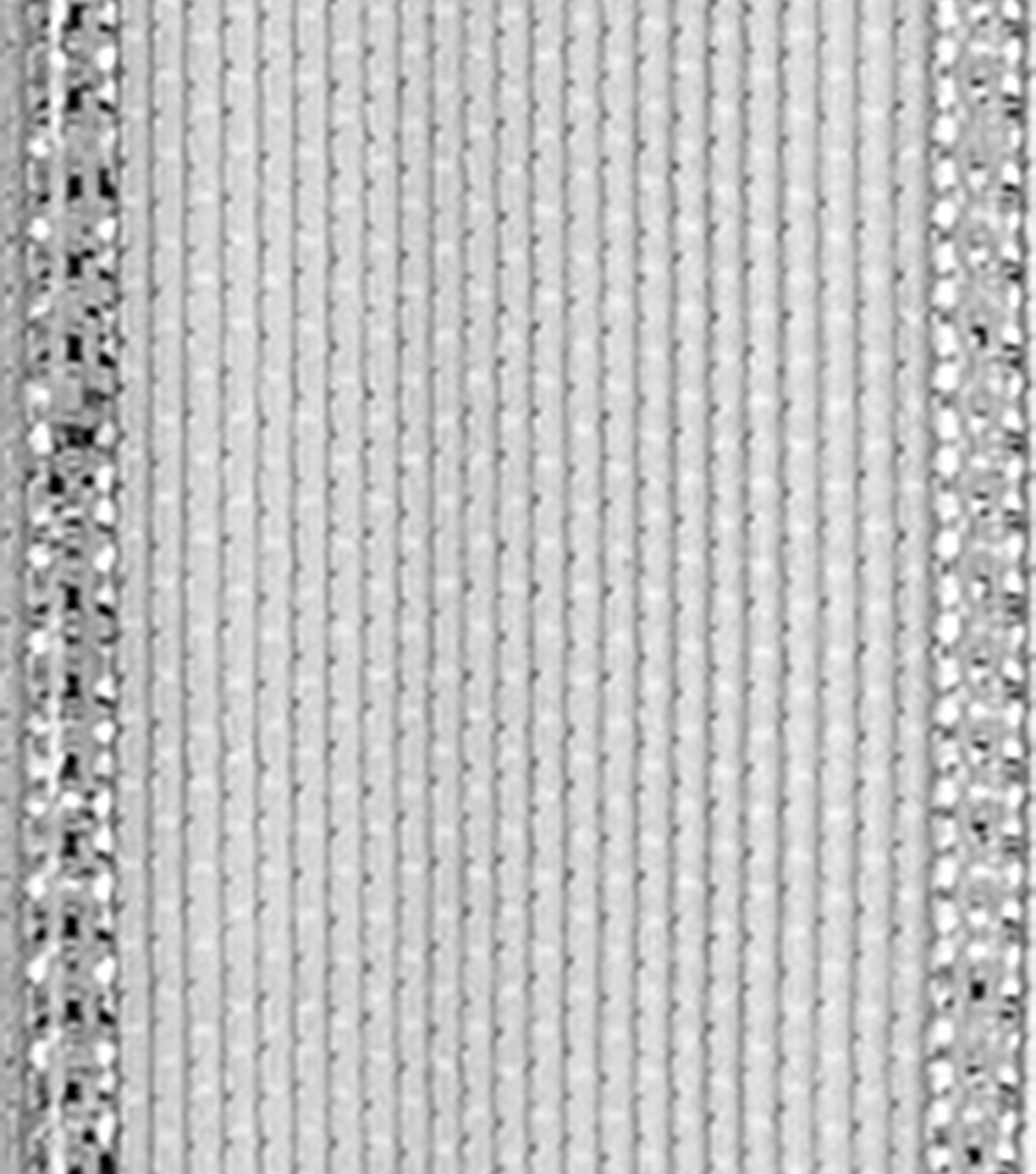 Offray 5/8\u0022x9\u0027 Aria Metallic Woven Wired Edge Ribbon-Silver