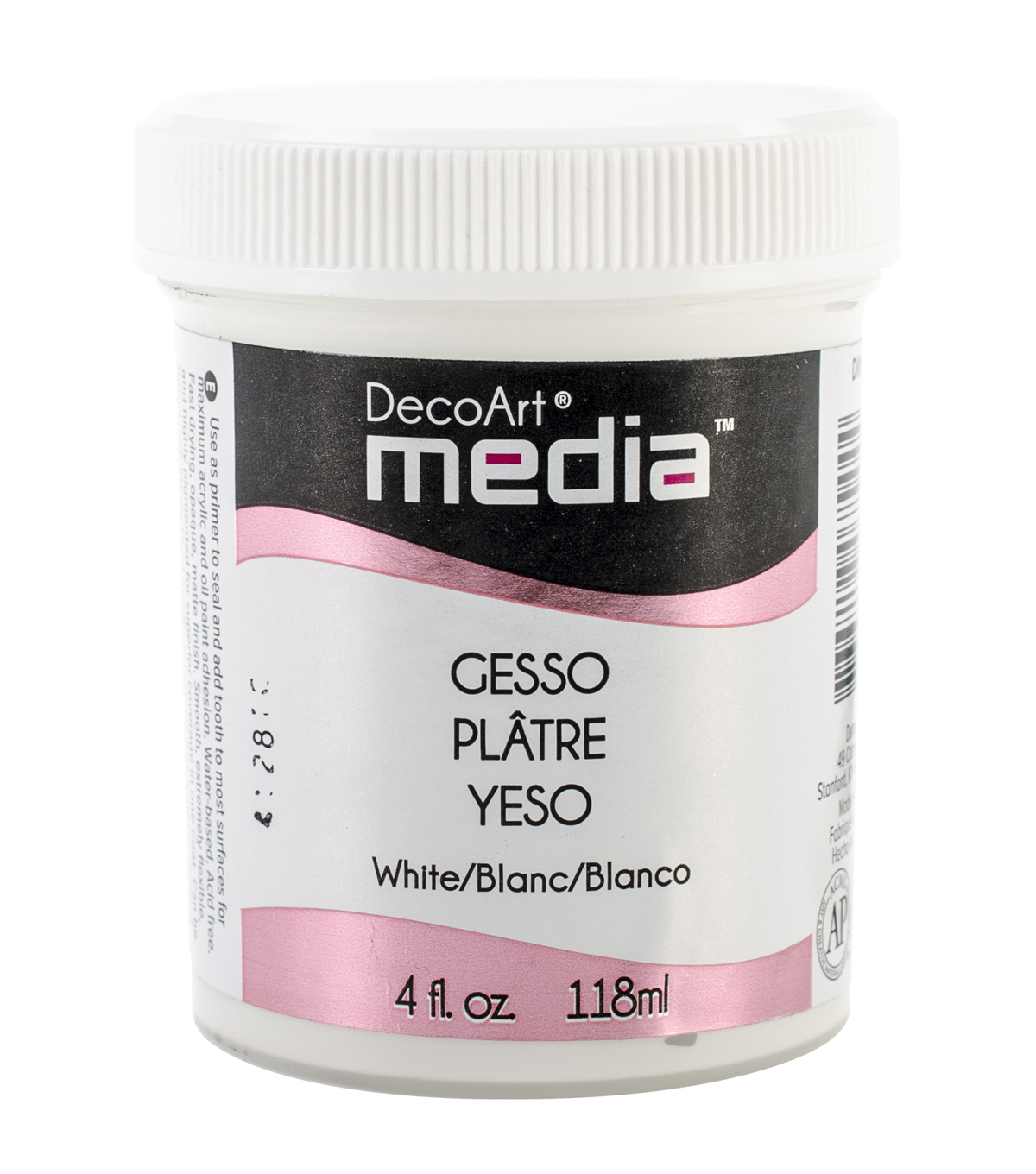 DecoArt Media Gesso 4oz-White