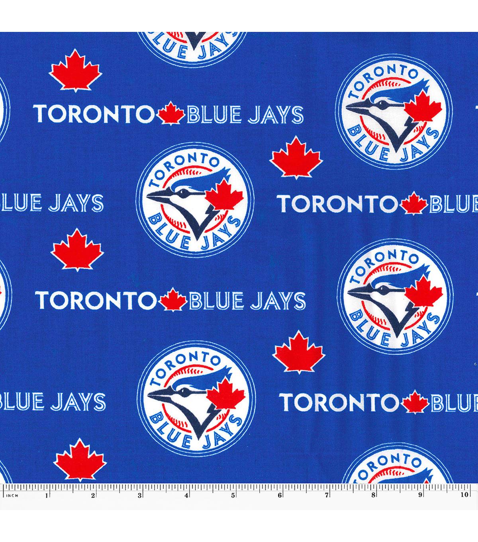 Toronto Blue Jays Cotton Fabric Logo Joann