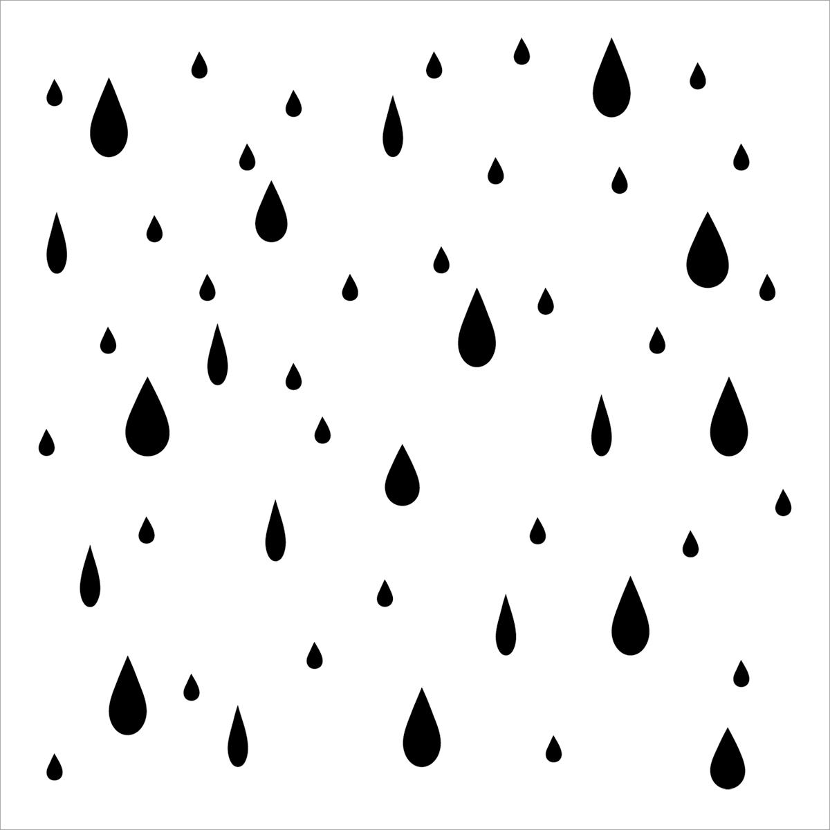 Crafters Workshop Templates Raindrops Joann