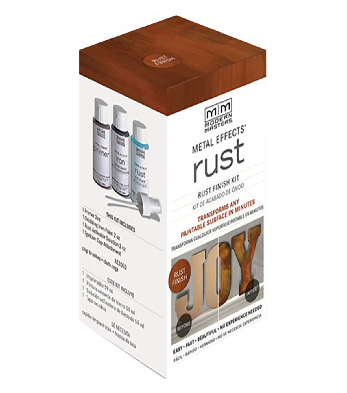Modern Masters Patina Metal Effects Paint Oxidizing Kit-Rust