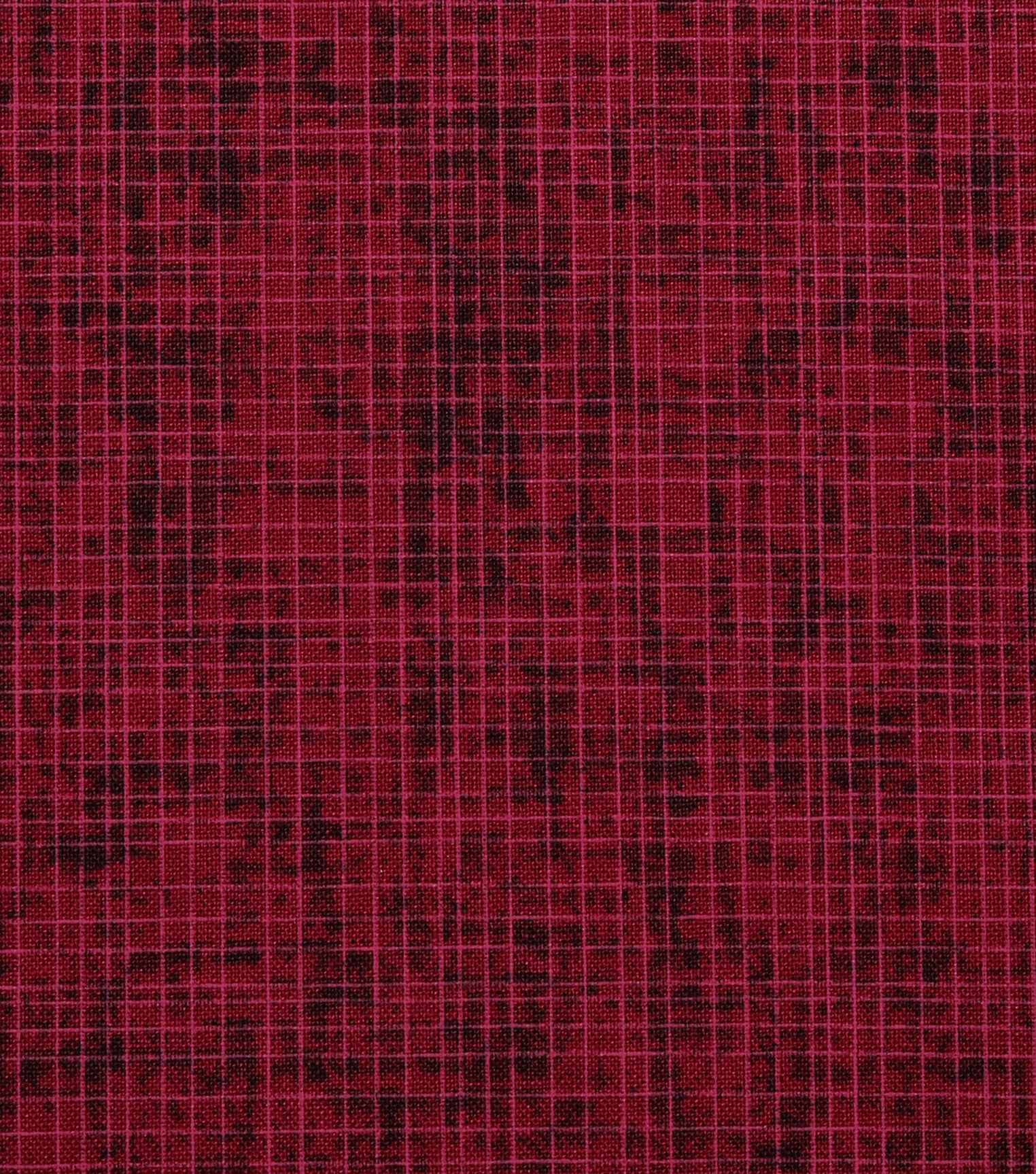 Harvest Cotton Fabric 44\u0022-Burgundy Harvest Cross Hatch