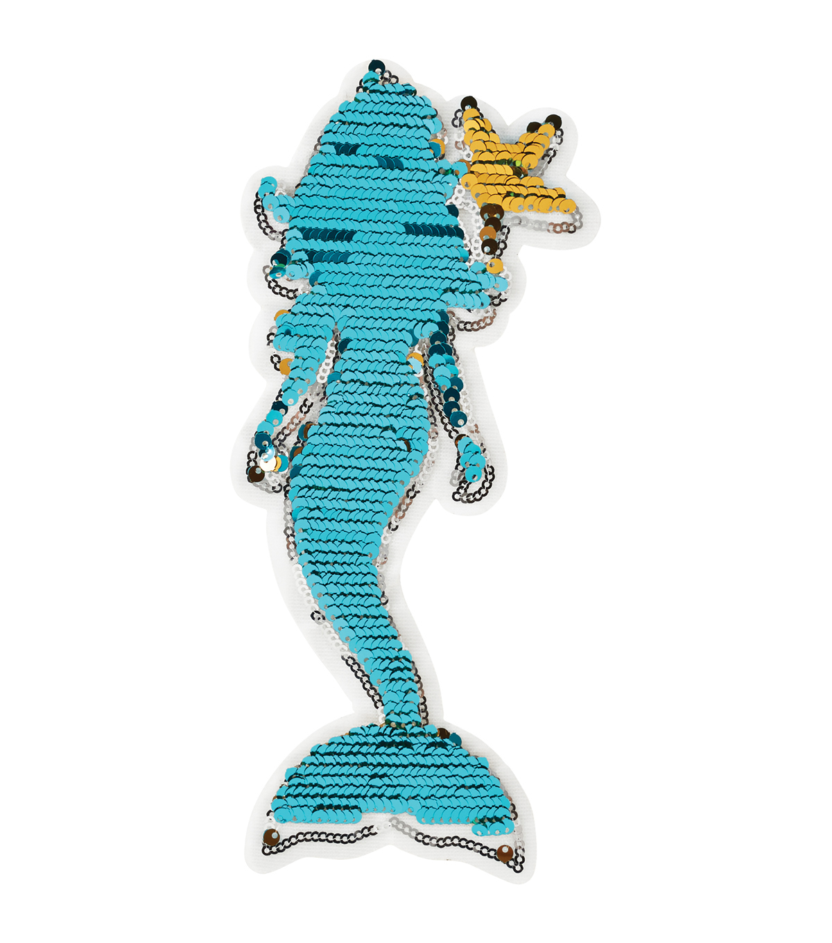 Mermaid Aqua Applique