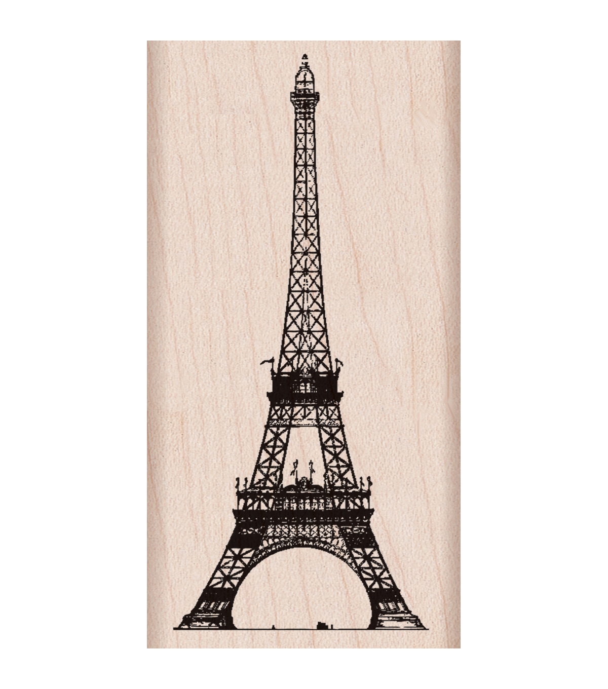 Hero Arts Wood Mounted Rubber Stamp-Eiffel Tower