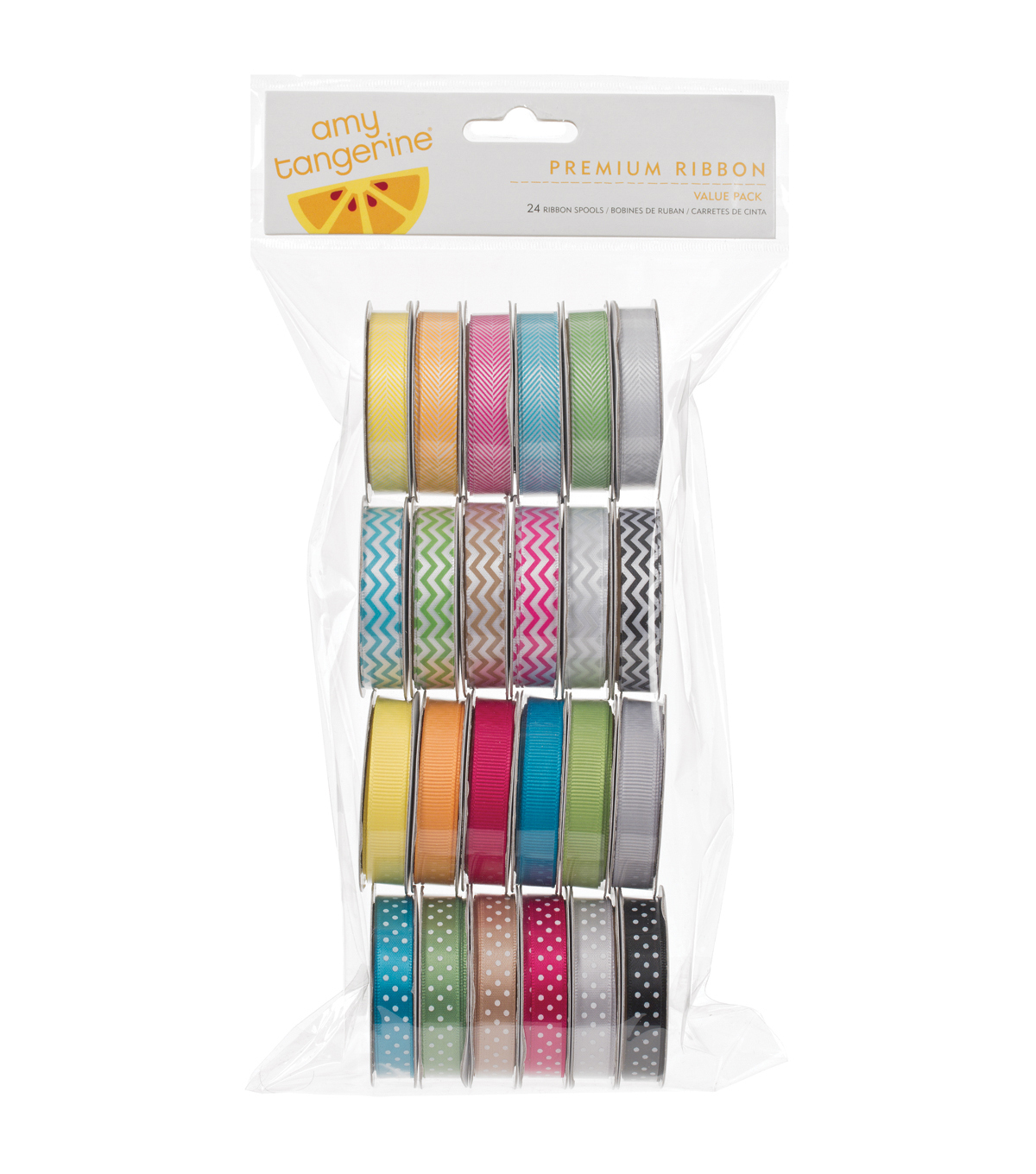 Ribbon Amy Tan 24 Spool Pack