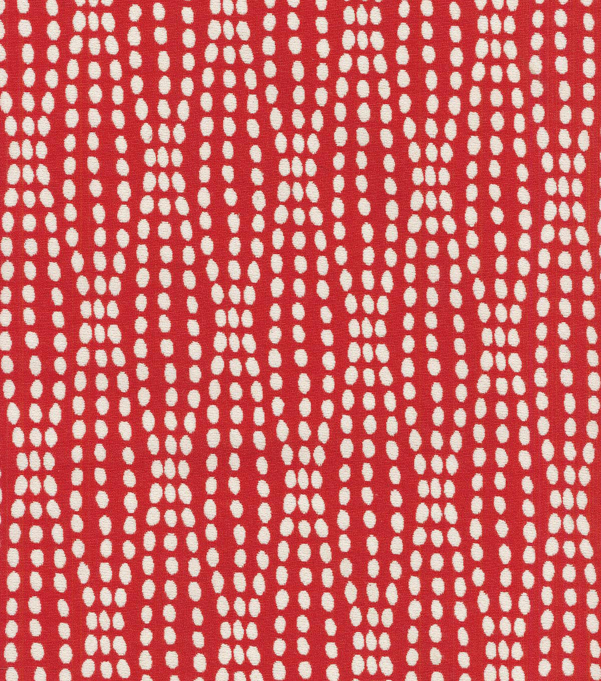 Waverly Upholstery Fabric 55\u0022-Strands Scarlet