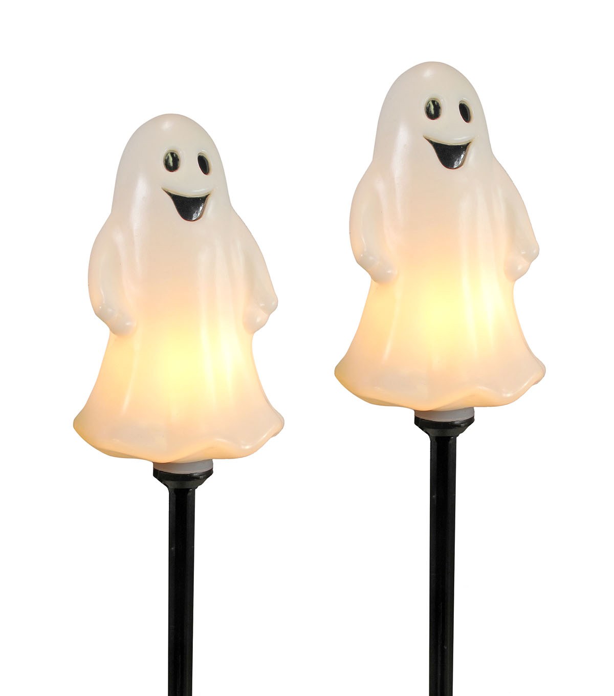 Maker\u0027s Halloween Decor 4 ct Ghost Pathway Markers