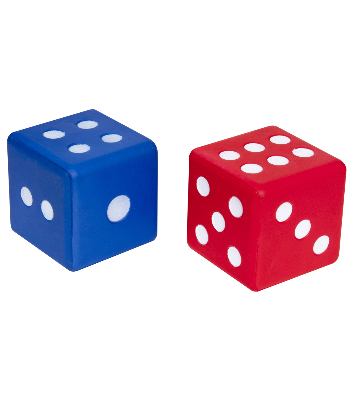 Learning Advantage Jumbo Foam Dice, Set of 2