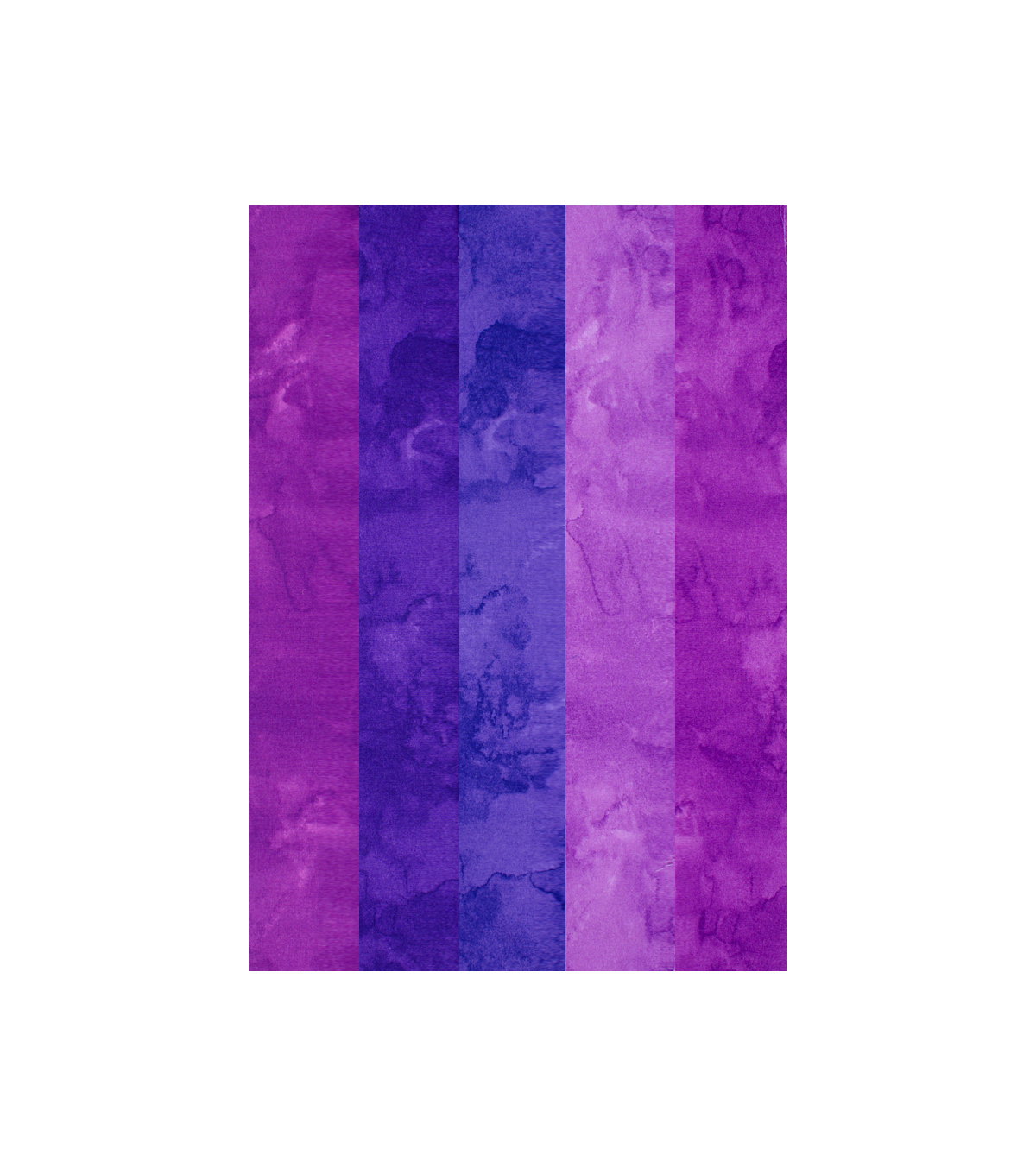 Jelly Roll Cotton Fabric Pack 2.5''x42'' Purple Texture ...
