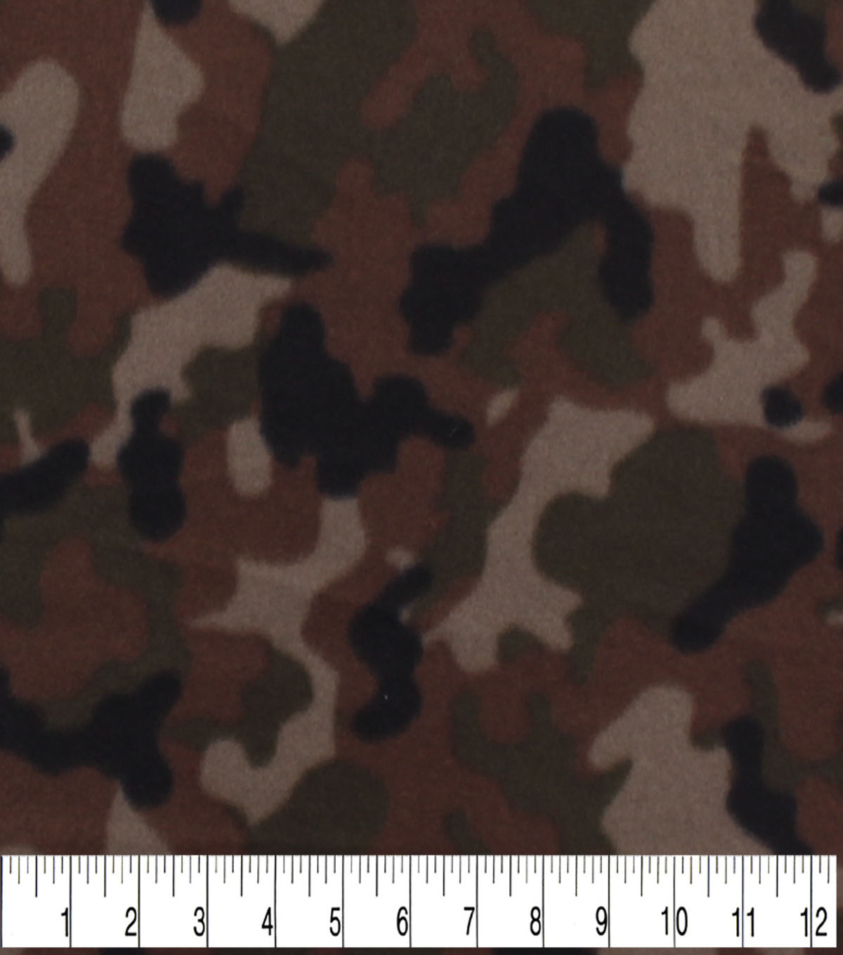 Blizzard Fleece Fabric -Classic Camouflage