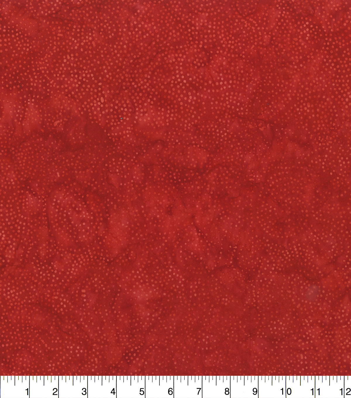 Batik Cotton Fabric-Red Dots