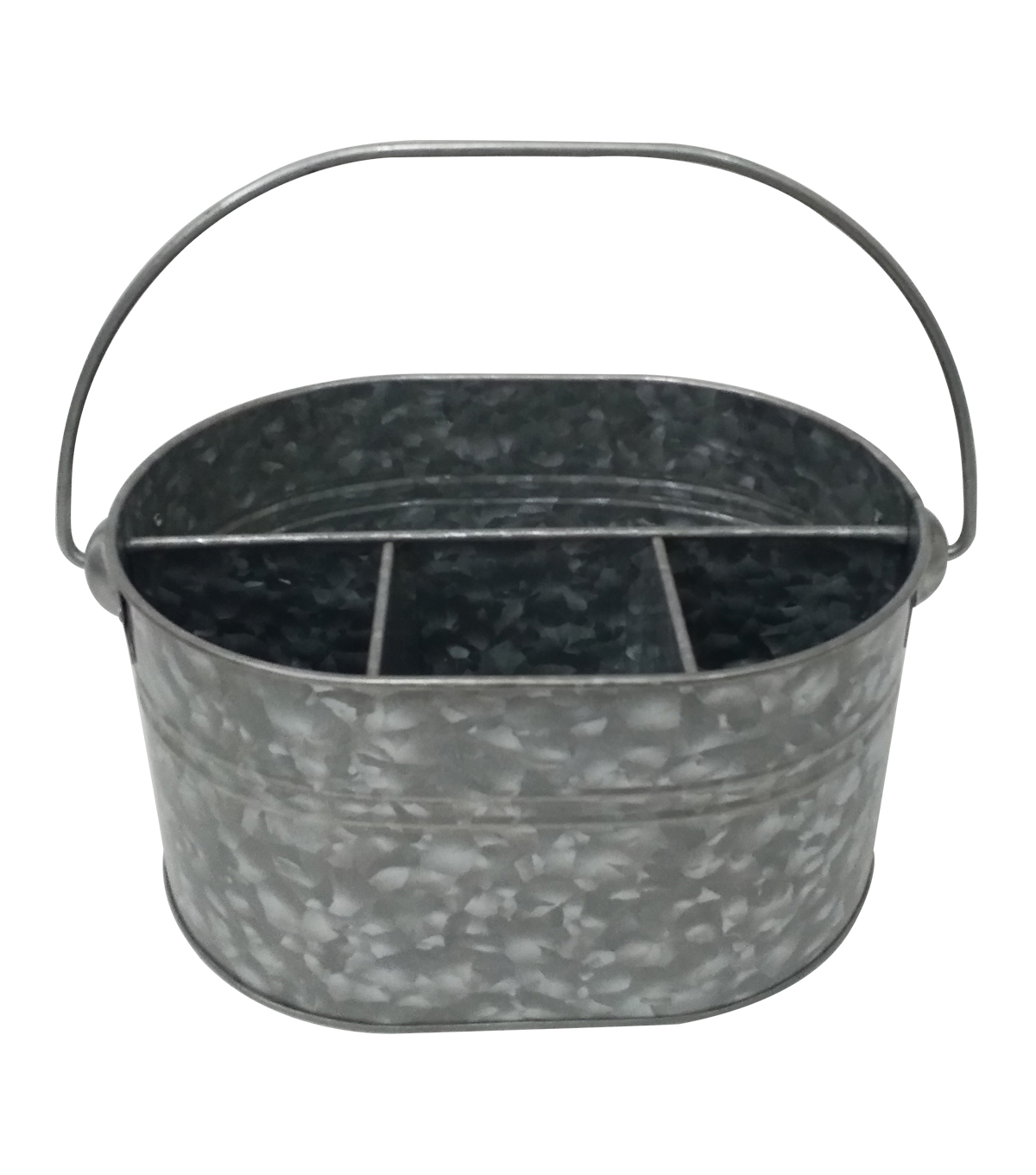Patio Oasis Galvanized Caddy