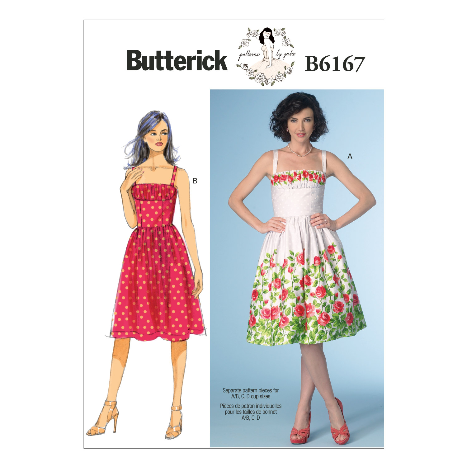 Butterick Misses Dress-B6167