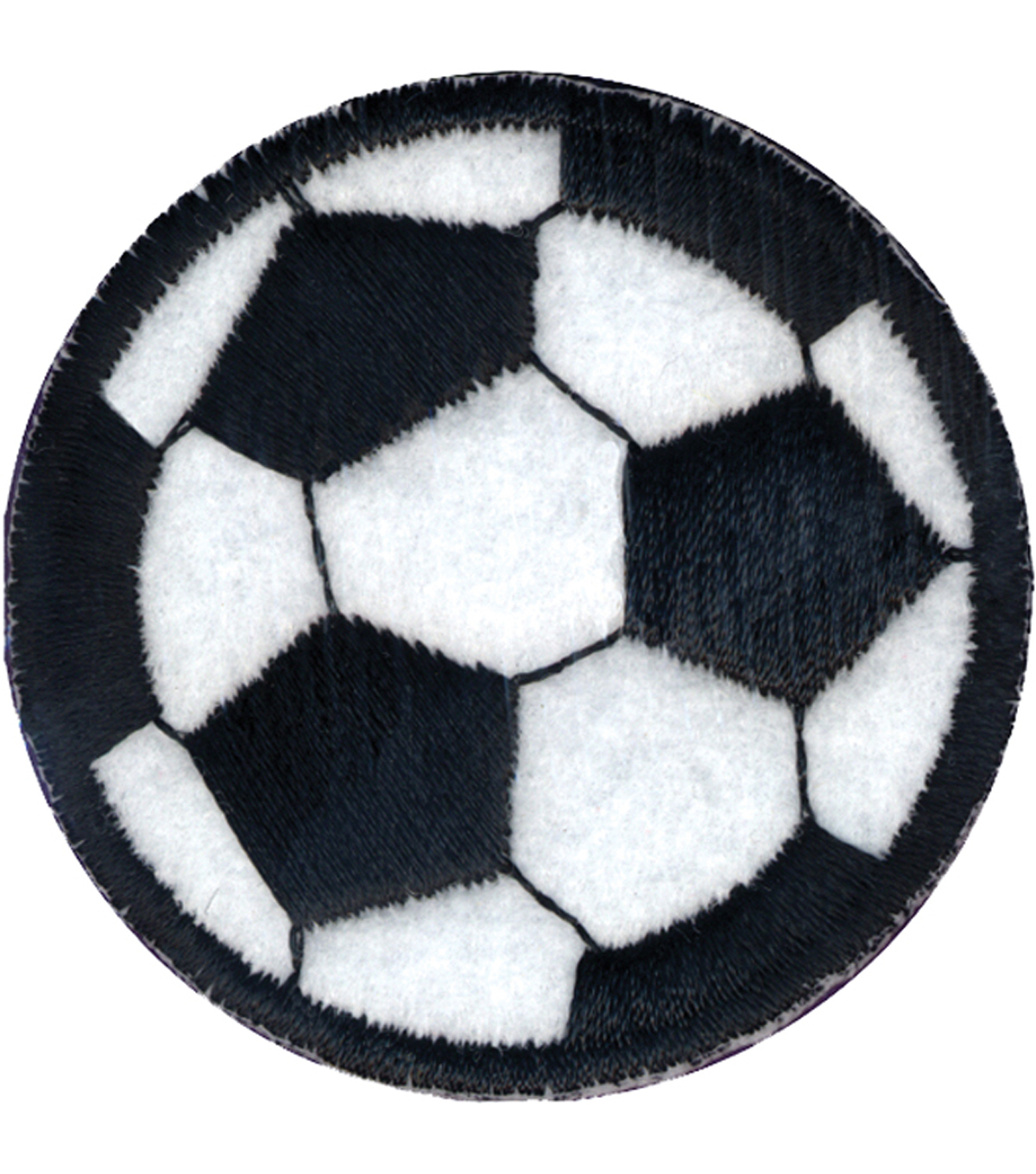 Wrights Iron-On Appliques-Soccer Ball 2\u0022 1/Pkg