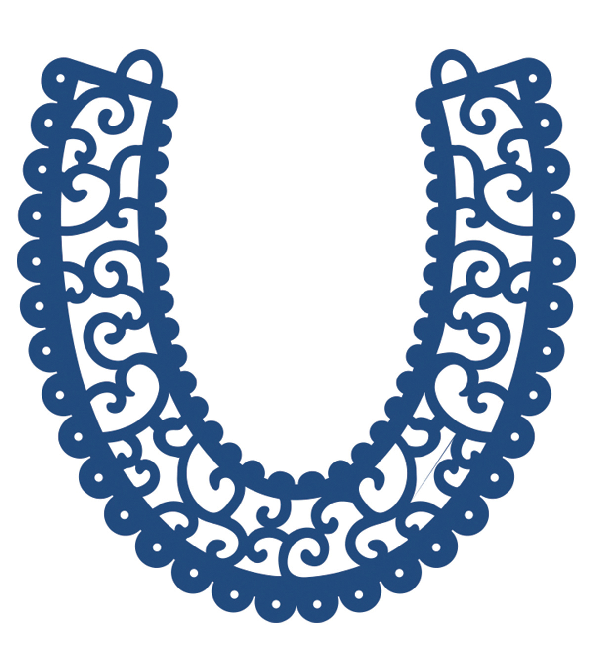Tattered Lace Metal Die-Horseshoe