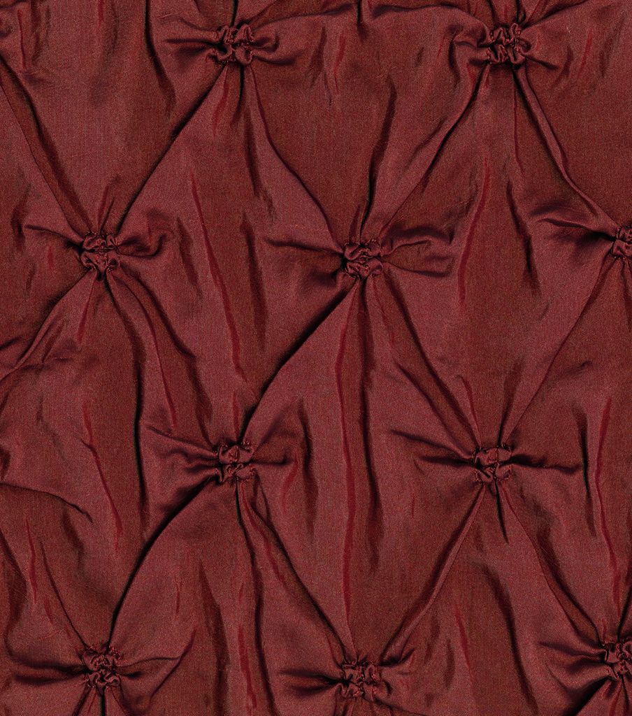 Lightweight Decor Pinched Taffeta Fabric 53\u0022-Burgundy