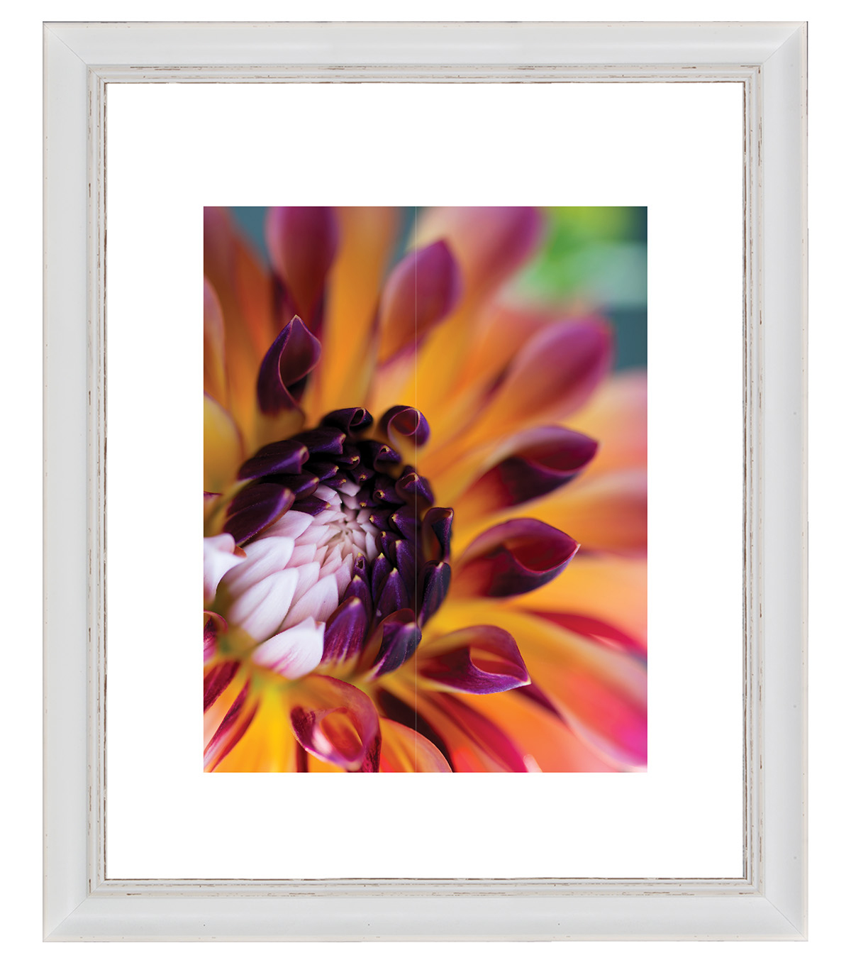 Matted Photo Frame 11\u0027\u0027x14\u0027\u0027-Ivory